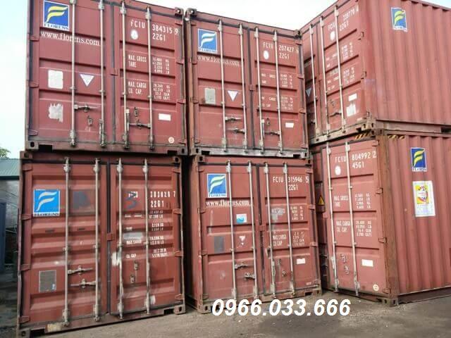 cho thuê container tại bắc giang
