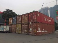 container 40feet cũ